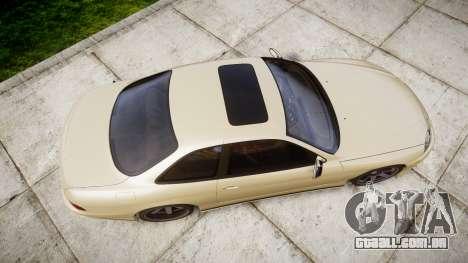 Lexus SC300 1997 para GTA 4 vista direita