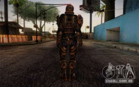 Shepard Reckoner Armor from Mass Effect 3 para GTA San Andreas segunda tela