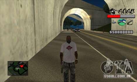 C-HUD A.C.A.B para GTA San Andreas terceira tela