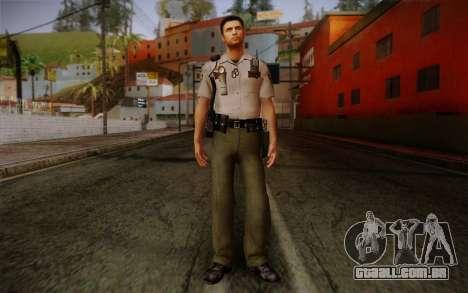 Alex Shepherd From Silent Hill Police para GTA San Andreas
