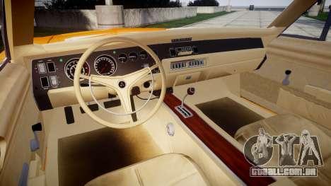 Dodge Charger RT 1969 General Lee para GTA 4 vista de volta