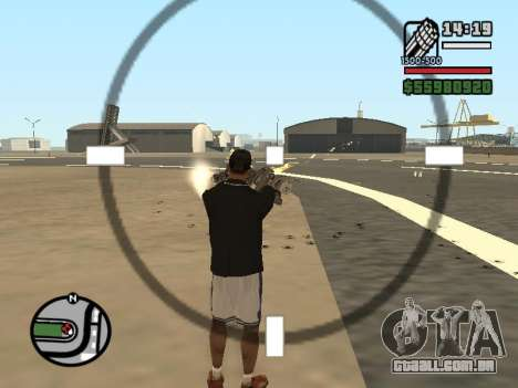Dupla de posse de todas as armas para GTA San Andreas sétima tela