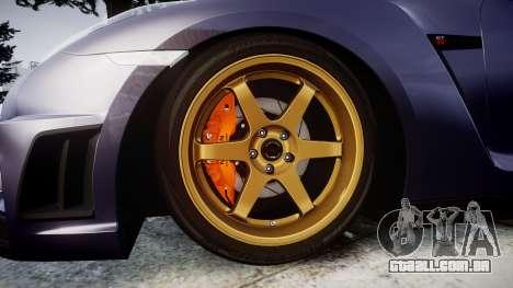 Nissan GT-R R35 2012 para GTA 4 vista de volta