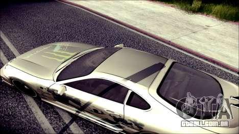 Toyota Supra Street Edition para GTA San Andreas vista interior