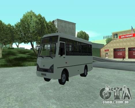 I-Van A07A para GTA San Andreas vista direita