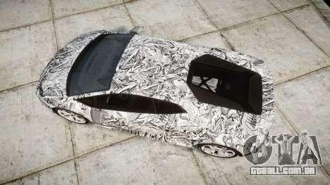 Lamborghini Huracan LP610-4 2015 Sharpie para GTA 4 vista direita