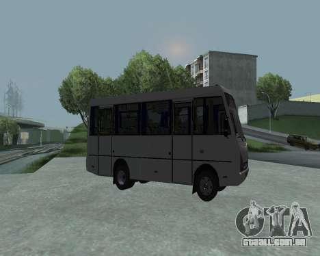 I-Van A07A para GTA San Andreas esquerda vista