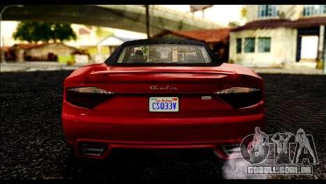 GTA 5 Hijak Khamelion IVF para GTA San Andreas vista direita