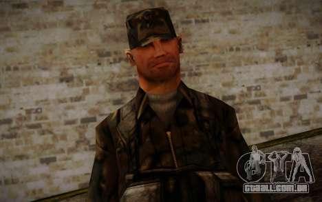 Soldier Skin 4 para GTA San Andreas terceira tela