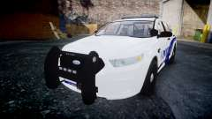 Ford Taurus 2014 Liberty City Police [ELS] para GTA 4