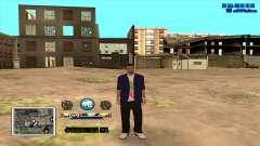 C-HUD Color para GTA San Andreas