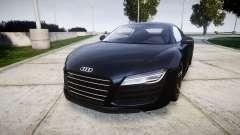 Audi R8 plus 2013 HRE rims