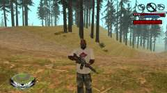 C-HUD by Kir4ik para GTA San Andreas