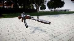 A AK-47 Colimador e o Focinho de freio