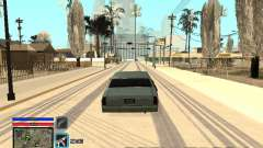 C-HUD Only Ghetto para GTA San Andreas