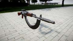 A AK-47 Colimador. Focinho e HICAP