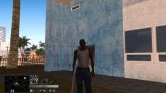 C-HUD Silver para GTA San Andreas
