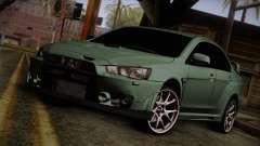 Mitsubishi Lancer Evolution FQ-400 para GTA San Andreas