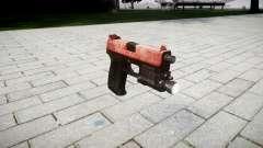 Pistola HK USP 45 vermelho