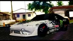 Nissan 180SX Monster Energy para GTA San Andreas