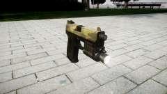 Pistola HK USP 45 flora