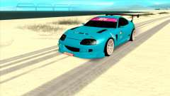 Toyota Supra Blue Lightning