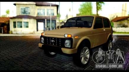 Lada 4x4 Urban para GTA San Andreas