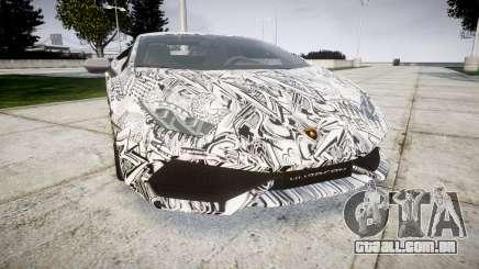 Lamborghini Huracan LP610-4 2015 Sharpie para GTA 4