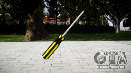 Chave de fenda para GTA 4