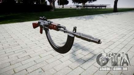 A AK-47 Colimador. Focinho e HICAP para GTA 4