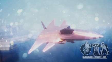 Chenyang J-20 Air Force BF4 para GTA San Andreas