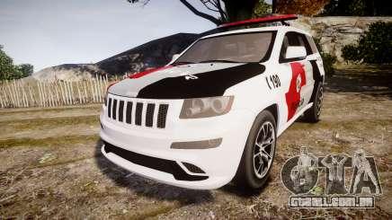 Jeep Grand Cherokee SRT8 Forca Tatica [ELS] para GTA 4