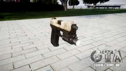 Pistola HK USP 45 nevada para GTA 4