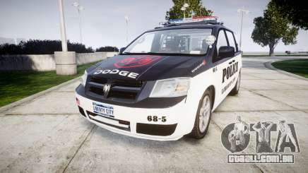 Dodge Grand Caravan LCPD [ELS] para GTA 4