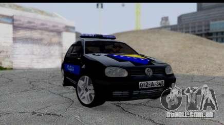 Volkswagen Golf MK4 hatchback de 3 portas para GTA San Andreas