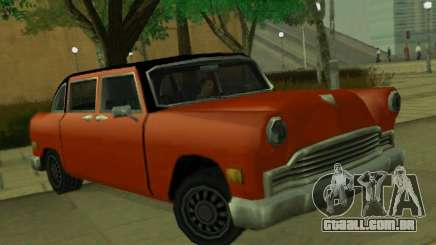 Cabbie Restyle para GTA San Andreas
