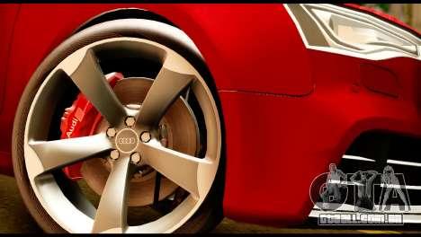 Audi RS5 2013 para GTA San Andreas vista direita