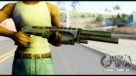 New Combat Shotgun para GTA San Andreas terceira tela