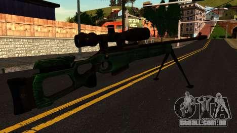 SV-98 com um Bipé e Âmbito de aplicação para GTA San Andreas segunda tela