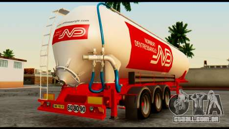Mercedes-Benz Actros Trailer ND para GTA San Andreas