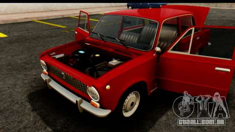 VAZ 2101 Zhiguli para GTA San Andreas vista interior