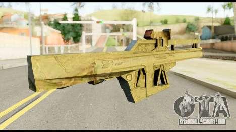 Fortune RG from Metal Gear Solid para GTA San Andreas segunda tela