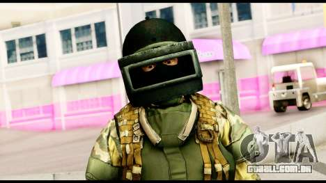 Support Troop from Battlefield 4 v2 para GTA San Andreas terceira tela