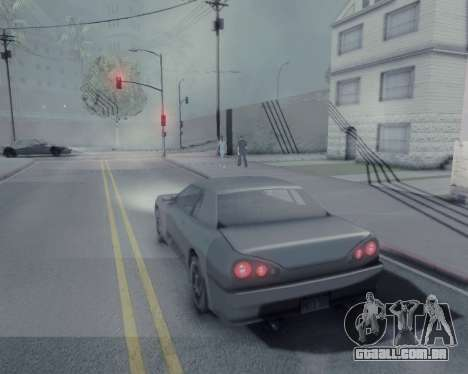 Gráfico Mod v5.0 для GTA San Andreas para GTA San Andreas por diante tela