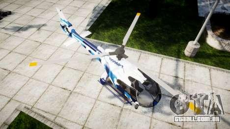 Eurocopter EC130B4 para GTA 4 vista direita