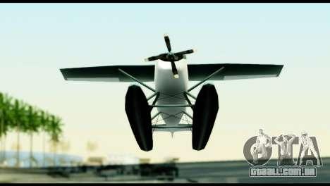 Beta Skimmer para GTA San Andreas vista interior