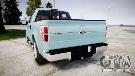 Ford Lobo 2012 para GTA 4 traseira esquerda vista