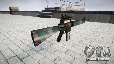 O M16A2 rifle [óptica] varsóvia para GTA 4 segundo screenshot