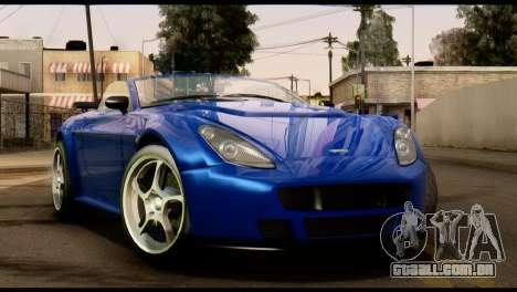 GTA 5 Dewbauchee Rapid GT Cabrio [HQLM] para GTA San Andreas