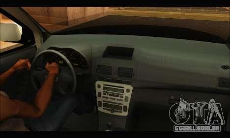 Ford Ranger P.B.A 2015 Text3 para GTA San Andreas vista direita